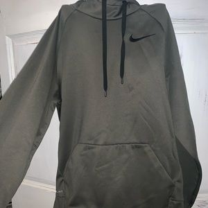 Nike dry fit fleece lined hoodie